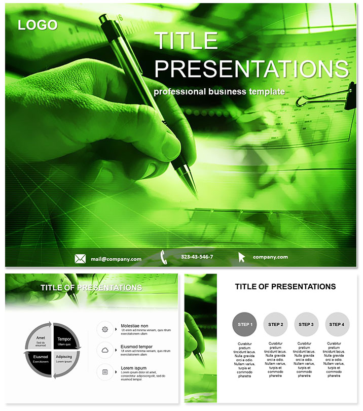Financial Statement Preparation PowerPoint templates