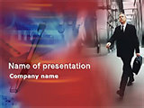 Business manager PowerPoint Template